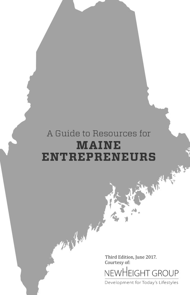 Guide to Resources for Maine Entrepreneurs, June 2017